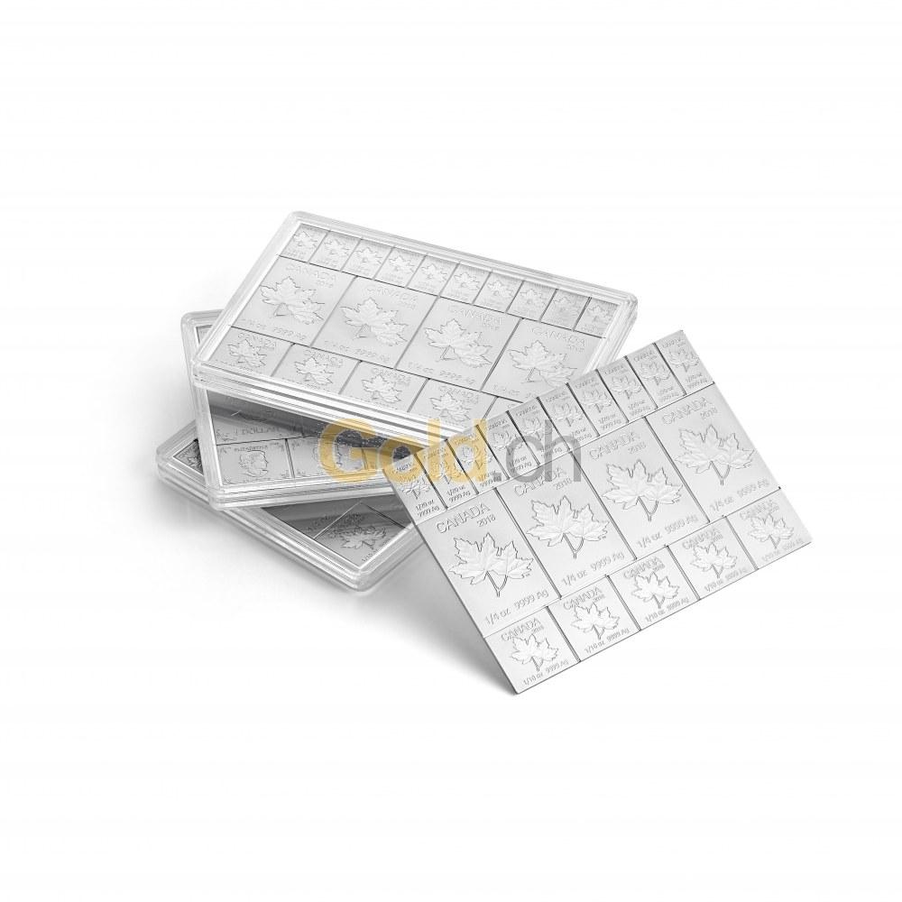 comparateur de prix d 39 acheter des tablettes de pi ces en argent combicoin mapleflex d 39 argent. Black Bedroom Furniture Sets. Home Design Ideas